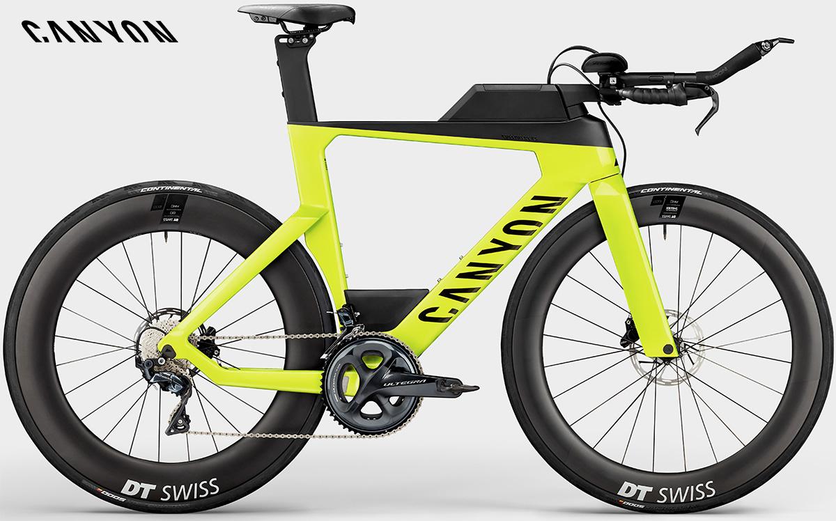 La nuova bici da triathlon Canyon Speedmax CF8 Ultegra 2021