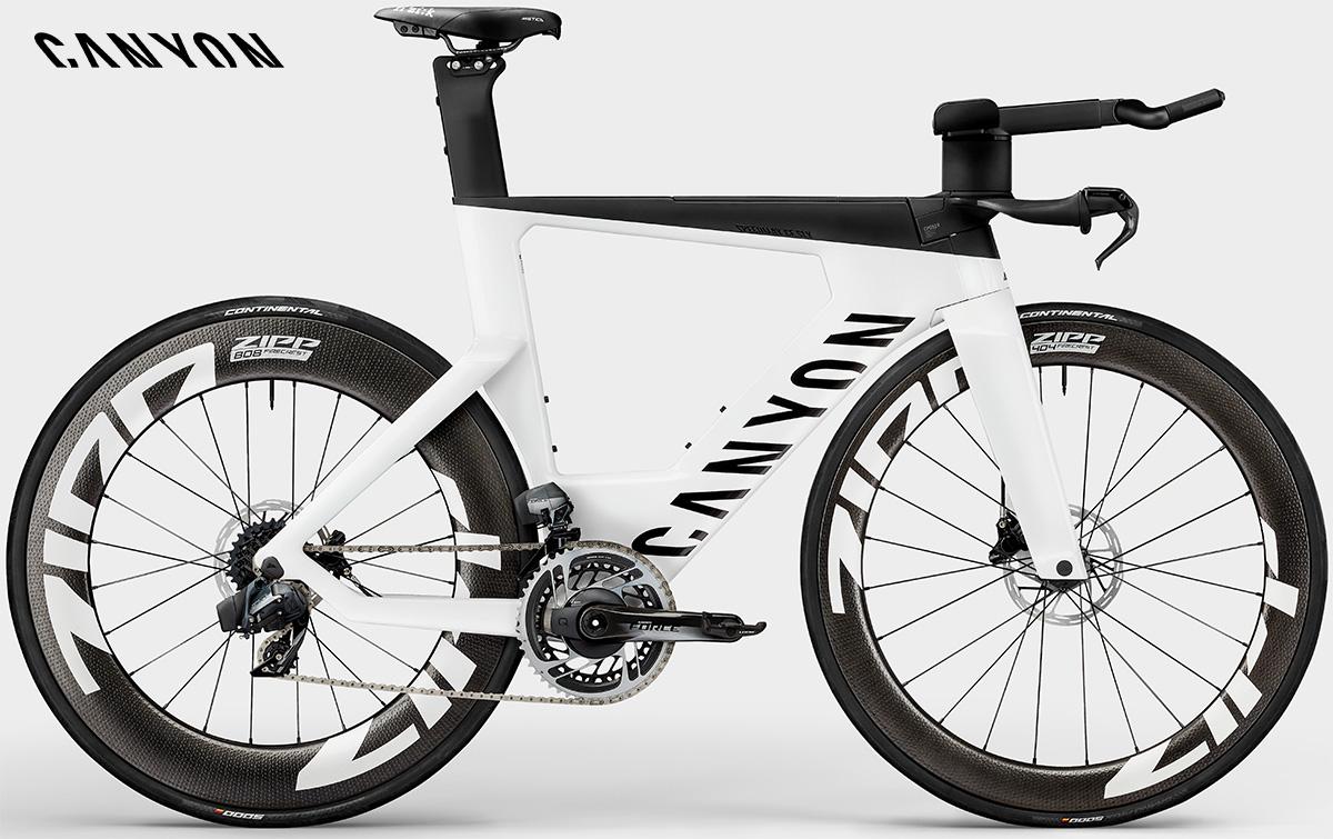 La nuova bici da triathlon Canyon Speedmax CF SLX8 Etap Disc 2021