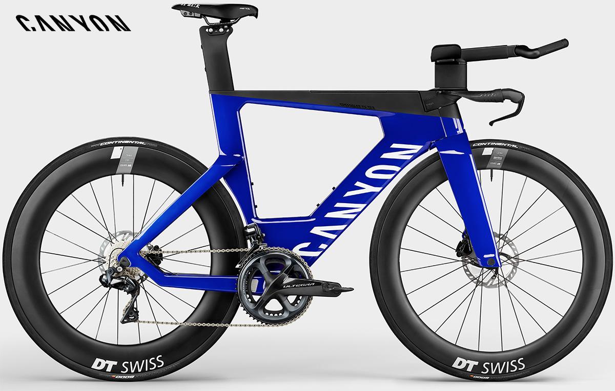 La nuova bici da triathlon Canyon Speedmax CF SLX8 Ultegra Di2 Disc 2021