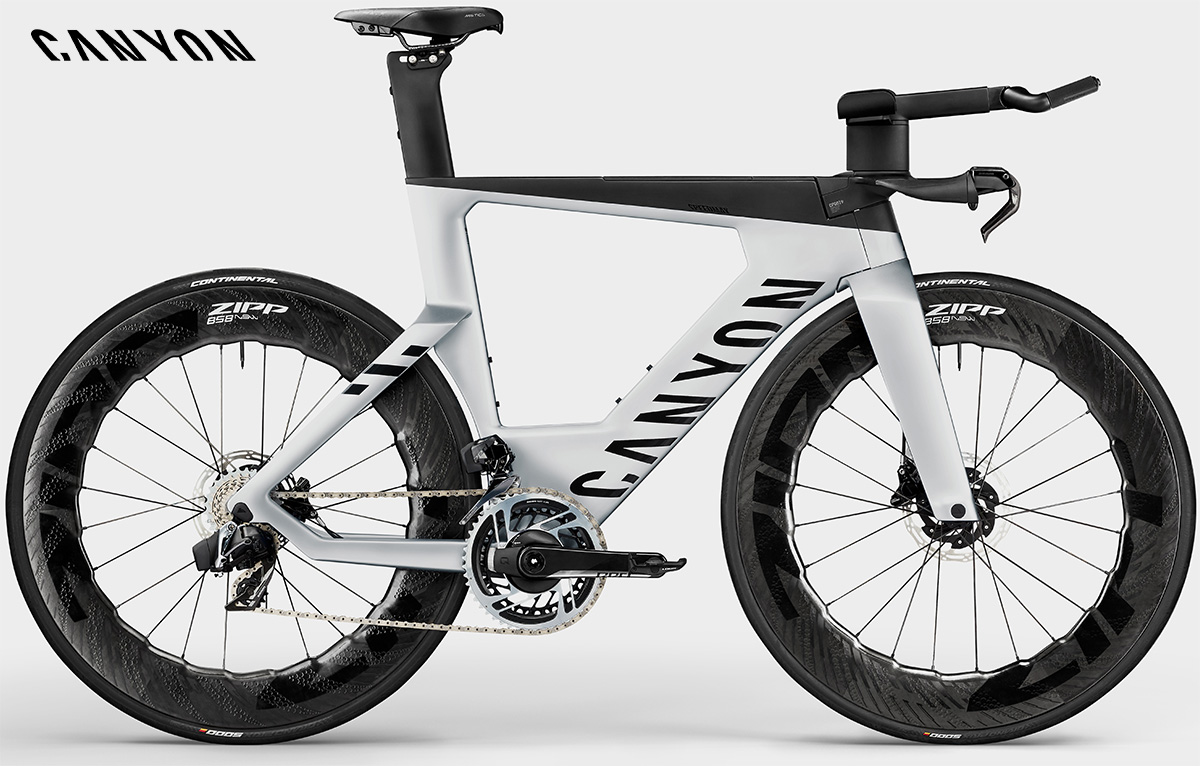 La nuova bici da triathlon Canyon Speedmax CFR Etap Disc 2021