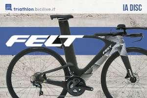 La bici da triathlon Felt IA 2021