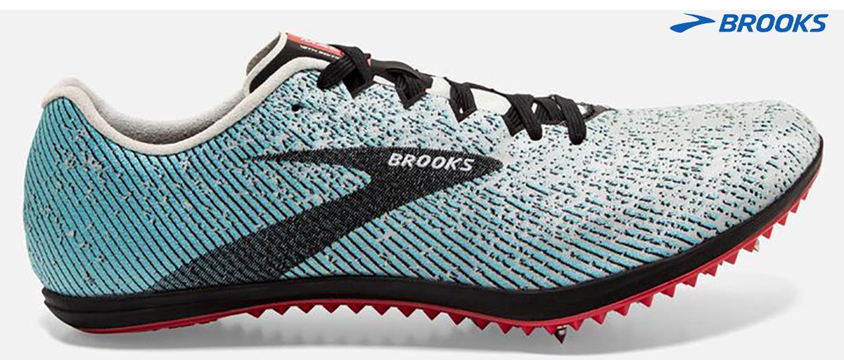 Le scarpe da corsa chiodate Brooks Mach 19