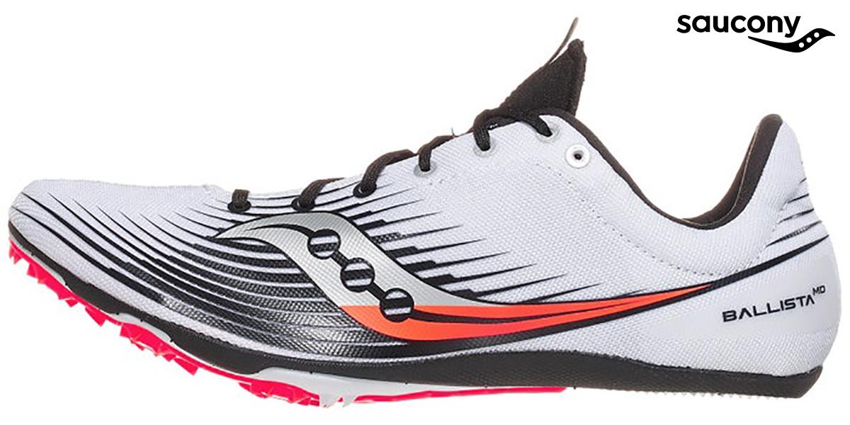 Le scarpe da corsa chiodate Saucony Ballista MD