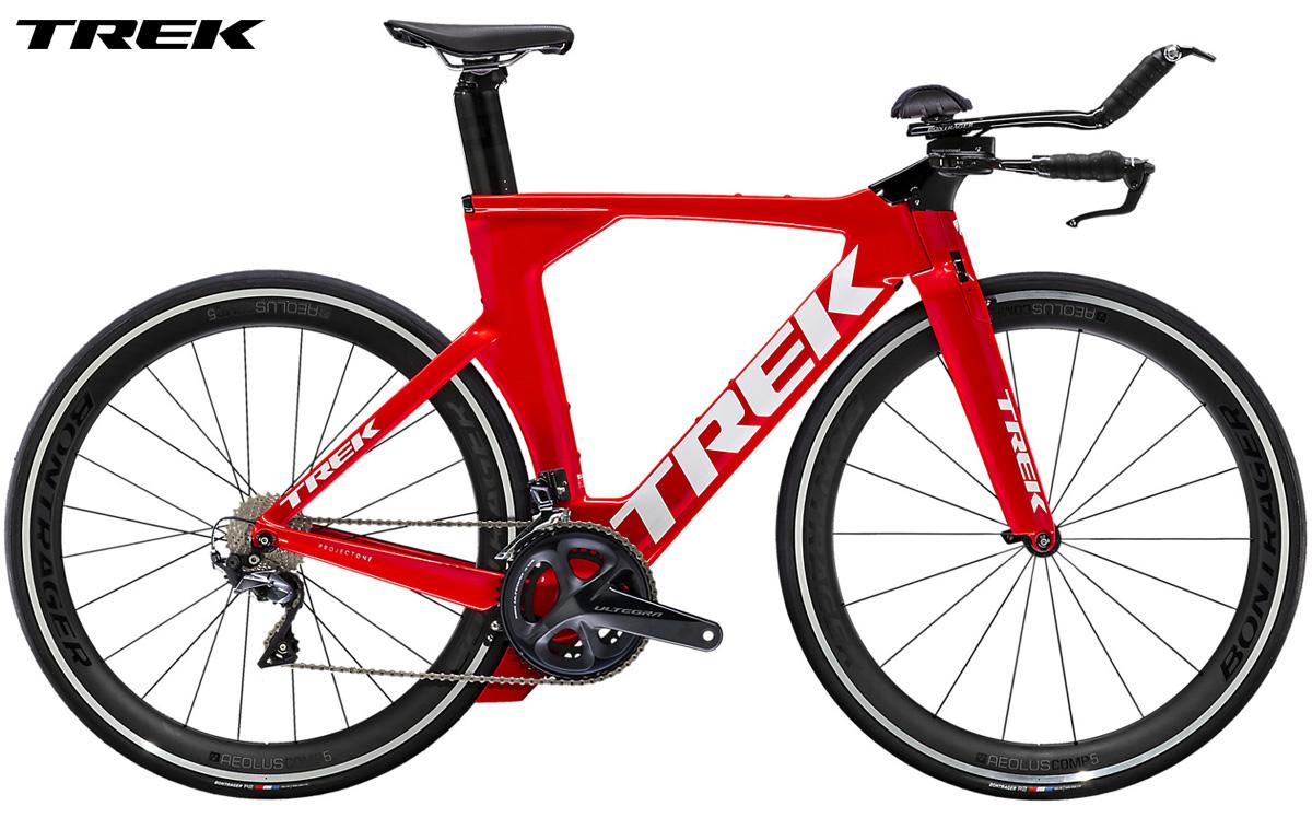 Una bici da triathlon e cronometro Trek Speed Concept 2021