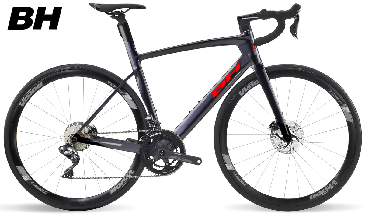 Una bicicletta da strada e triathlon BH G8 Disc 6.0 stagione 2021