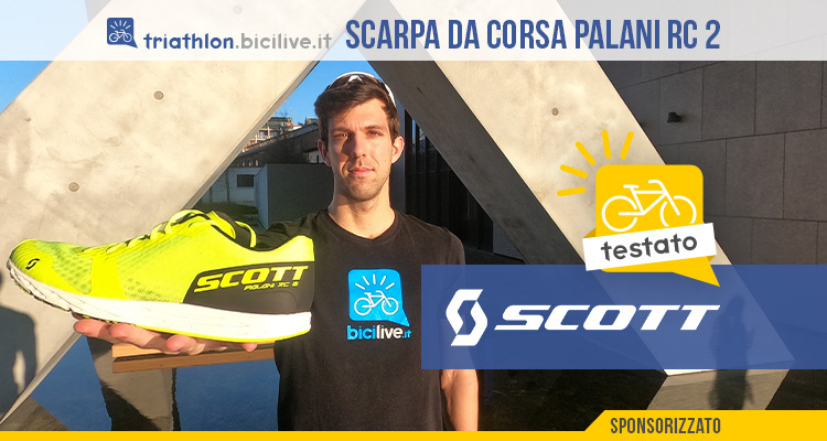 Il test di Sergio Viganò delle scarpe da corsa Scott Palani RC 2