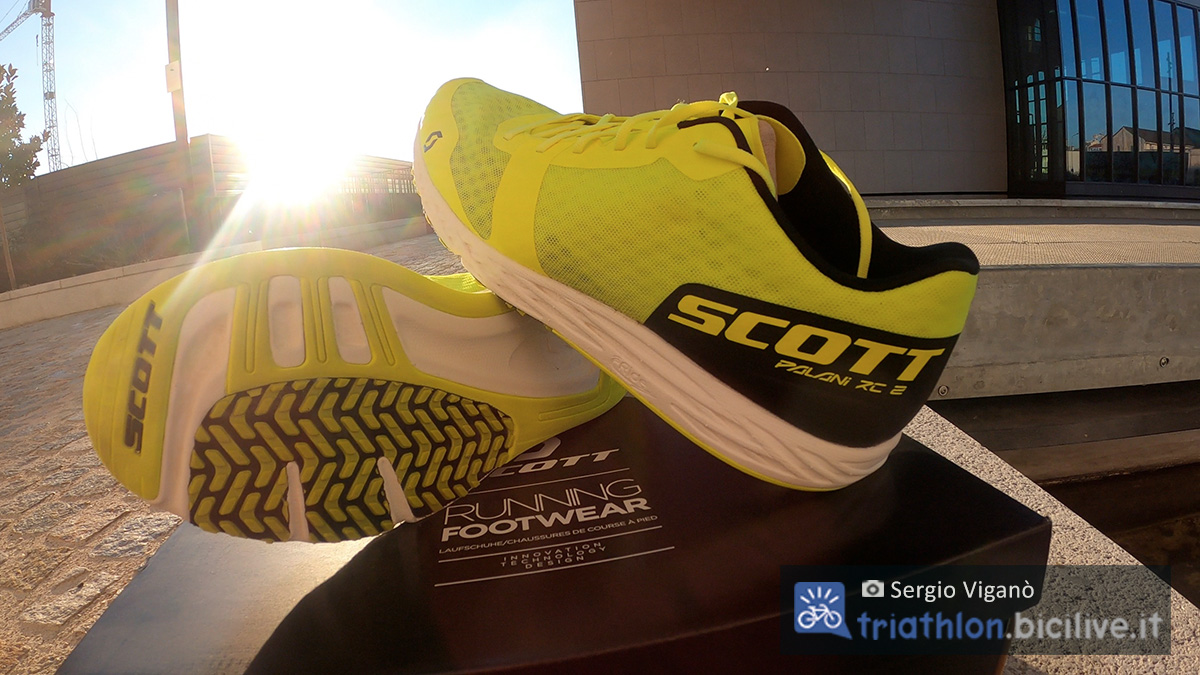 Il paio di scarpe da corsa Scott Palani RC 2 testato da Sergio Viganò