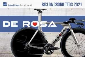 La nuova bici da cronometro De Rosa TT03 2021