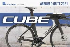 La nuova bicicletta da triathlon Cube Aerium C68 TT 2021