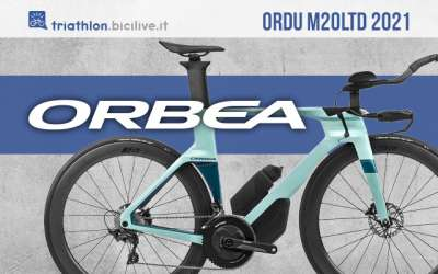 La nuova bici da triathlon Orbea M20LTD 2021