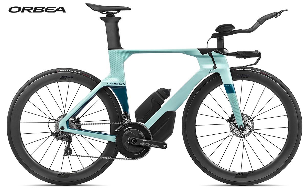 La nuova bici da triathlon Orbea Ordu M20LTD 2021 vista laterale