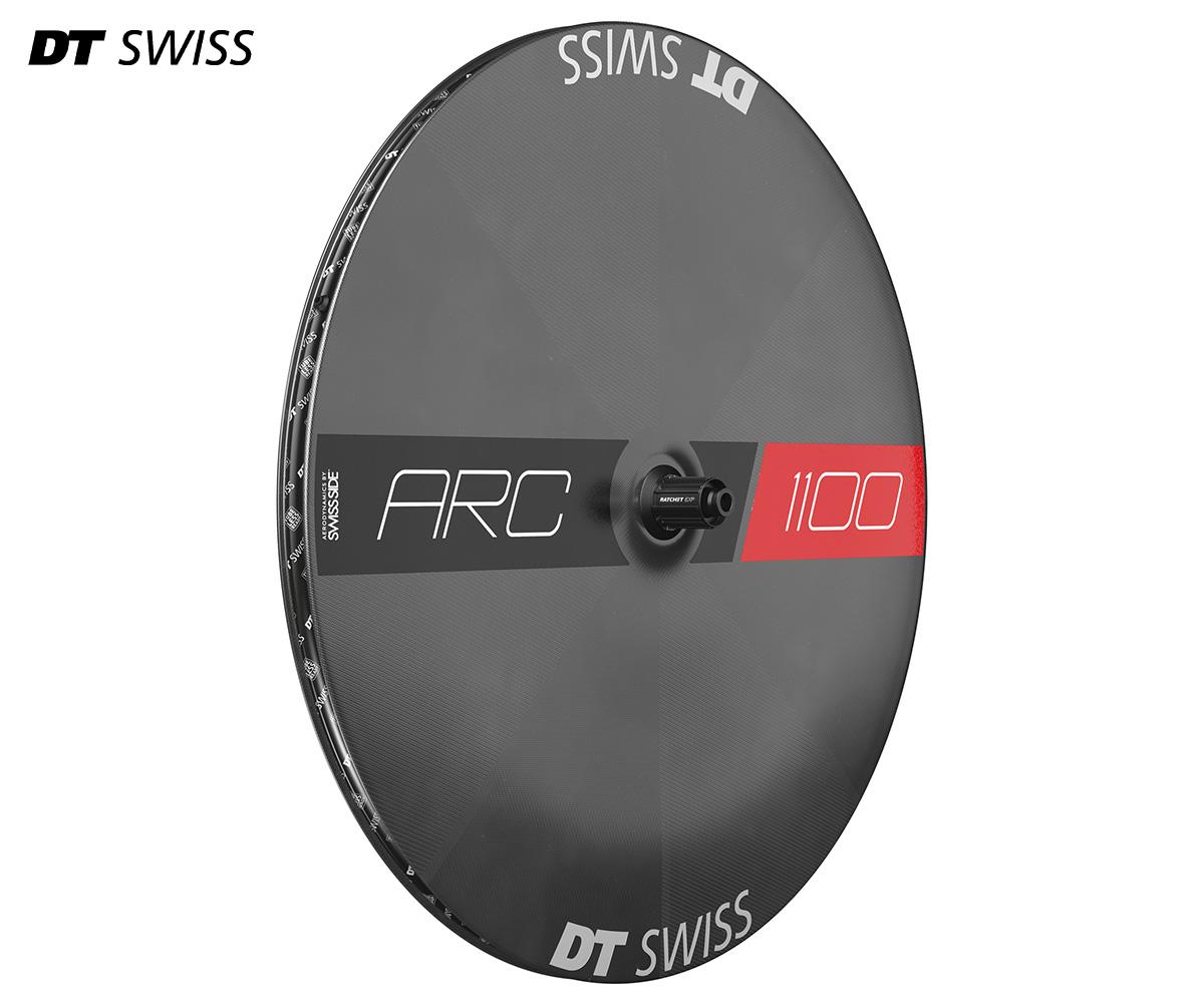 La nuova ruota lenticolare DT Swiss ARC 1100 Dicut Disc