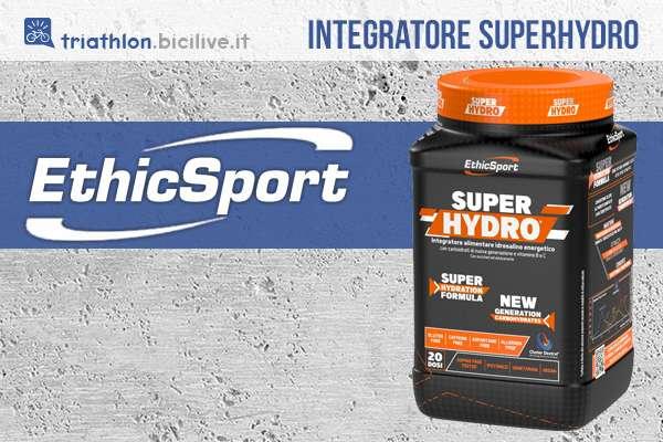 L'integratore sportivo Ethicsport Super Hydro